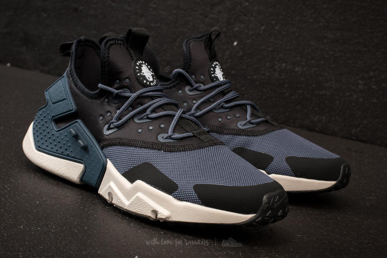 timeless design 5de19 caff8 Nike Air Huarache Drift Thunder Blue/ Desert Sand-Black ...