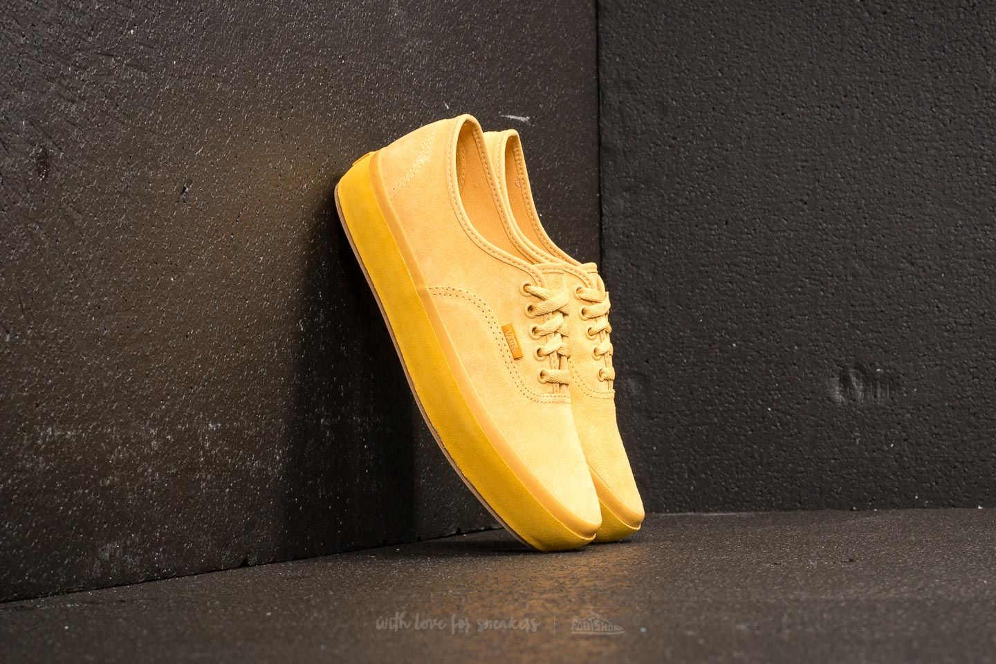 df60179521cf Vans Authentic Platform (Suede Outsole) Ochre  Tawny Olive