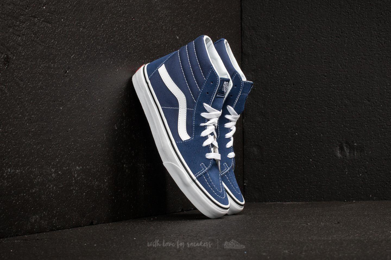 96b74994517d95 Vans Sk8-Hi Estate Blue  True White