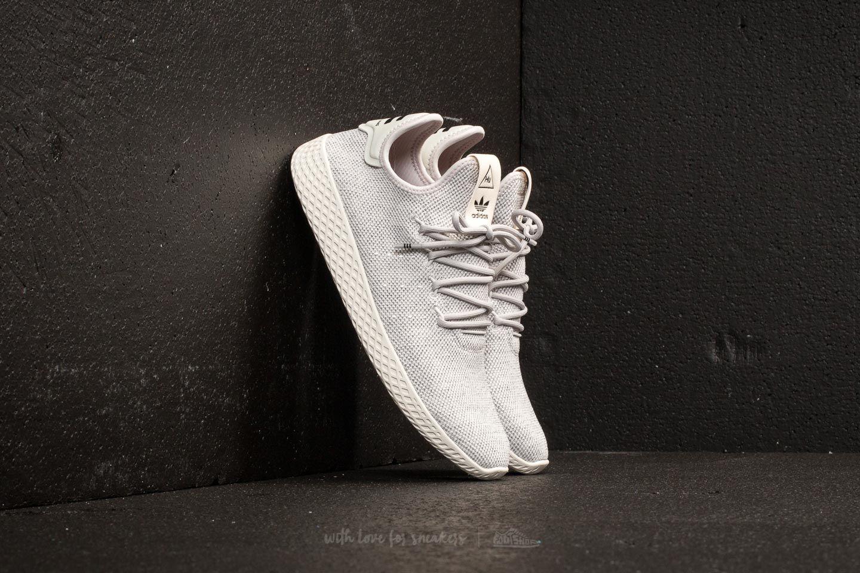 11390eef0bdb7 adidas Pharrell Williams Tennis HU Grey One  Grey One  Chalk White ...