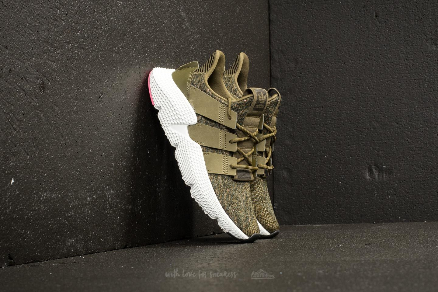 adidas Prophere Trace Olive Trace Olive Chalk Pink   Footshop
