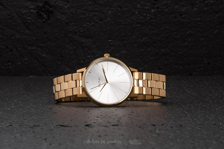 Nixon Kensington Gold/ White