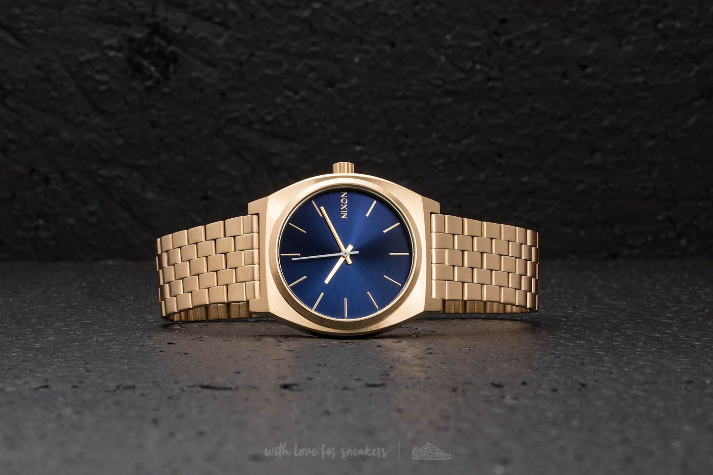 Nixon Time Teller All Gold/ Blue Sunray