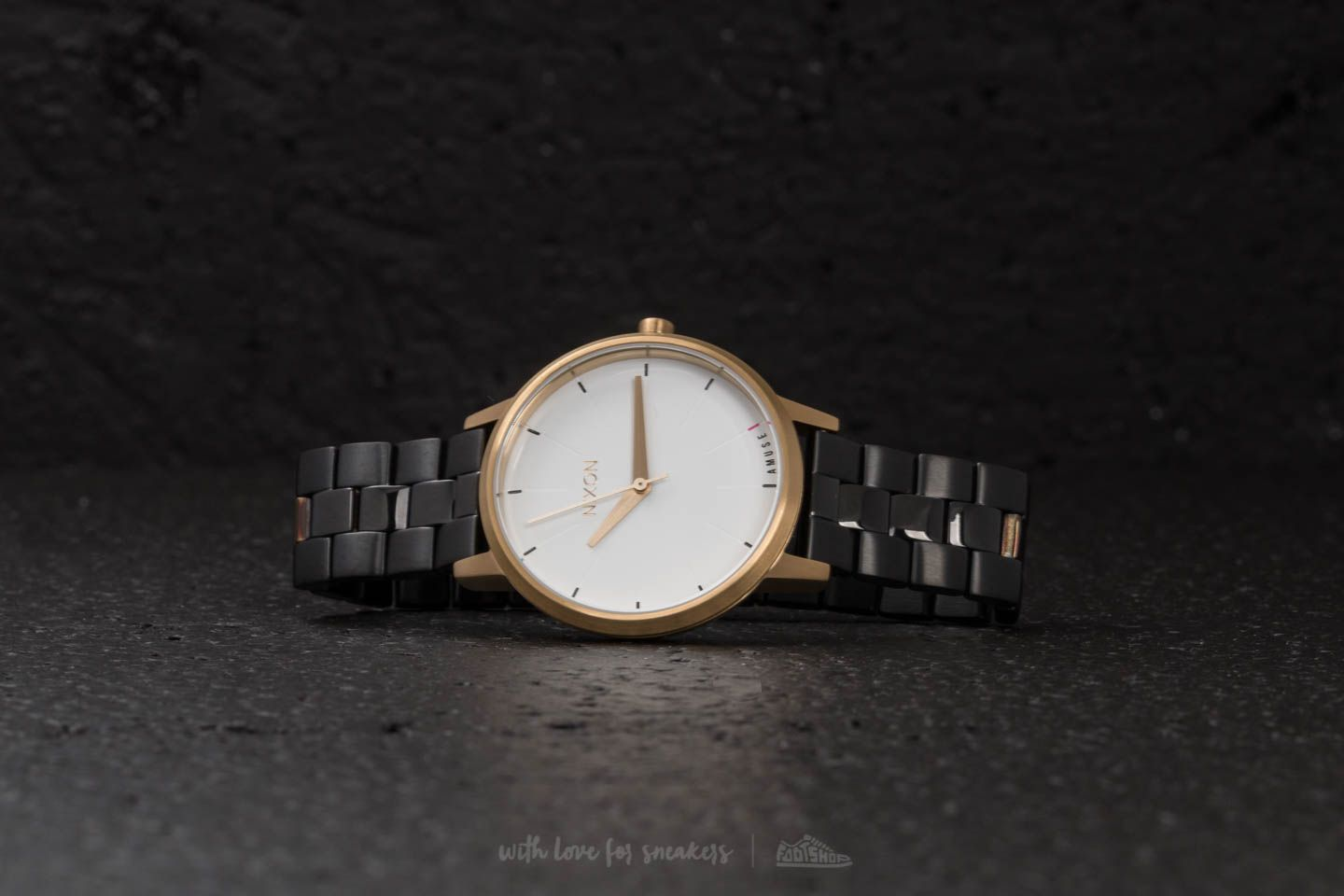 Nixon Kensington Light Gold/ Black