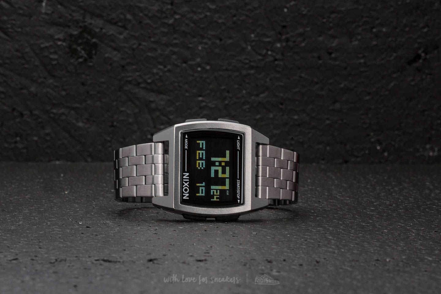 Nixon Base All Gunmetal