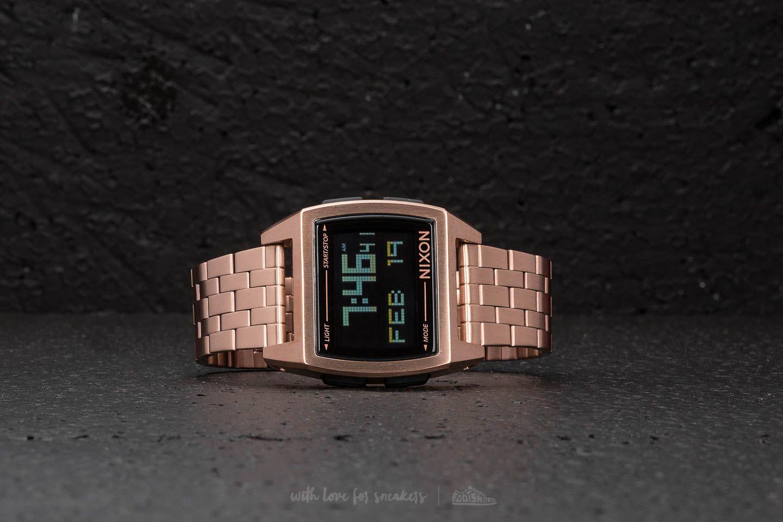 Nixon Base All Rose Gold a muy buen precio 111 € comprar en Footshop 92a987b78bd6