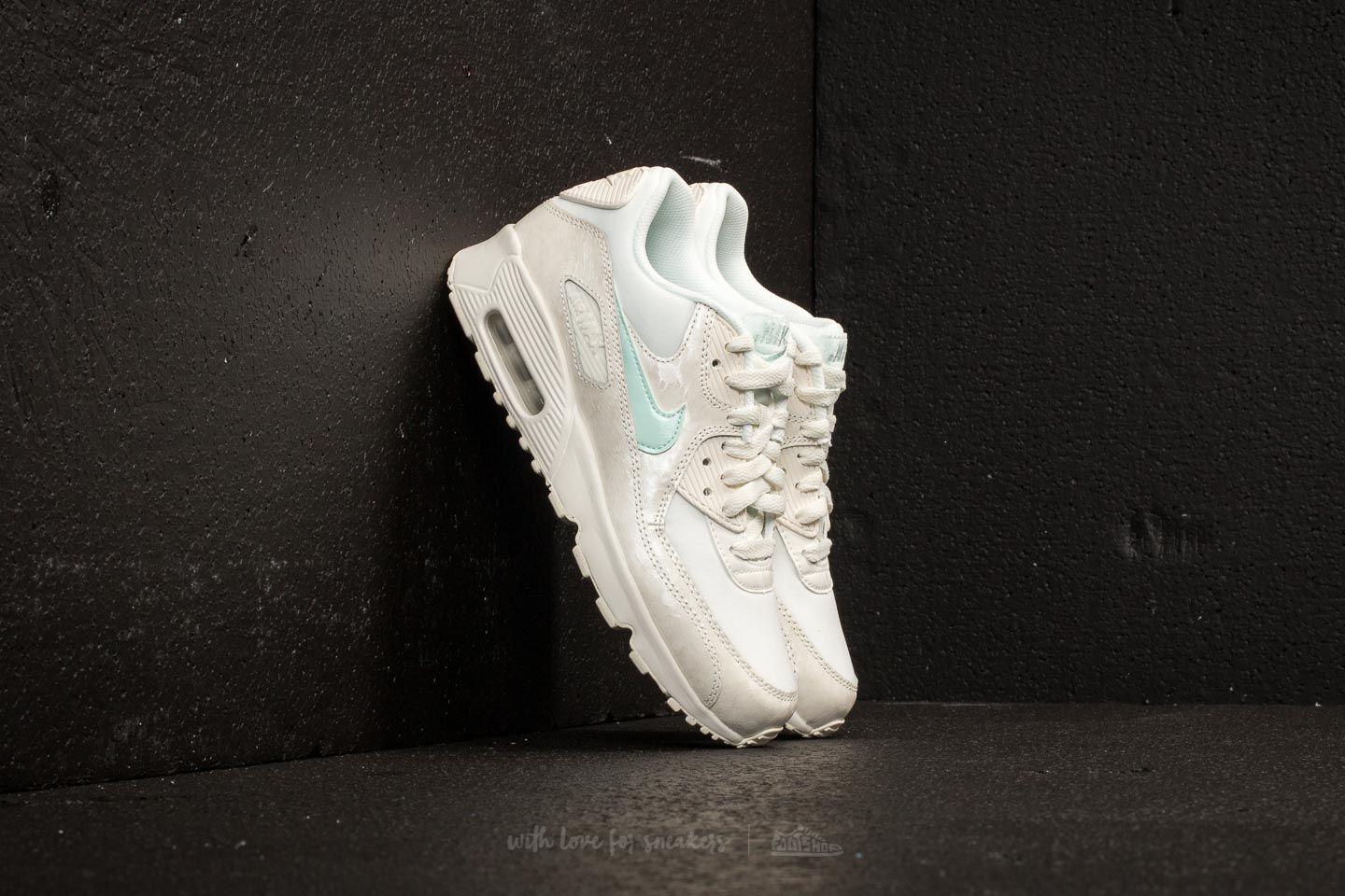 sale retailer 64ba8 b3949 Nike Air Max 90 Mesh (GS). Sail  Igloo