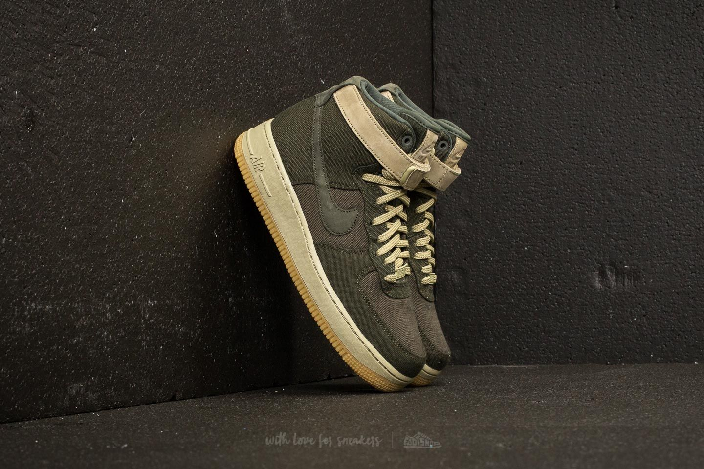 645f26168e3887 Nike Wmns Air Force 1 Hi Utility Sequoia  Sequoia-Neutral Olive ...