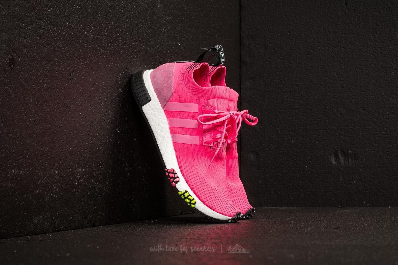 adidas NMD_Racer Primeknit Solar Pink/ Solar Pink/ Core Black