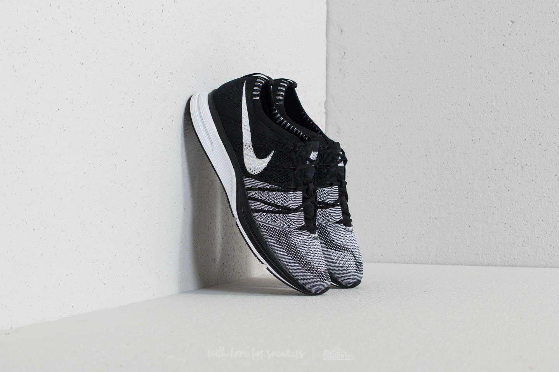 0977c0fc79319 Nike Flyknit Trainer Black  White  White
