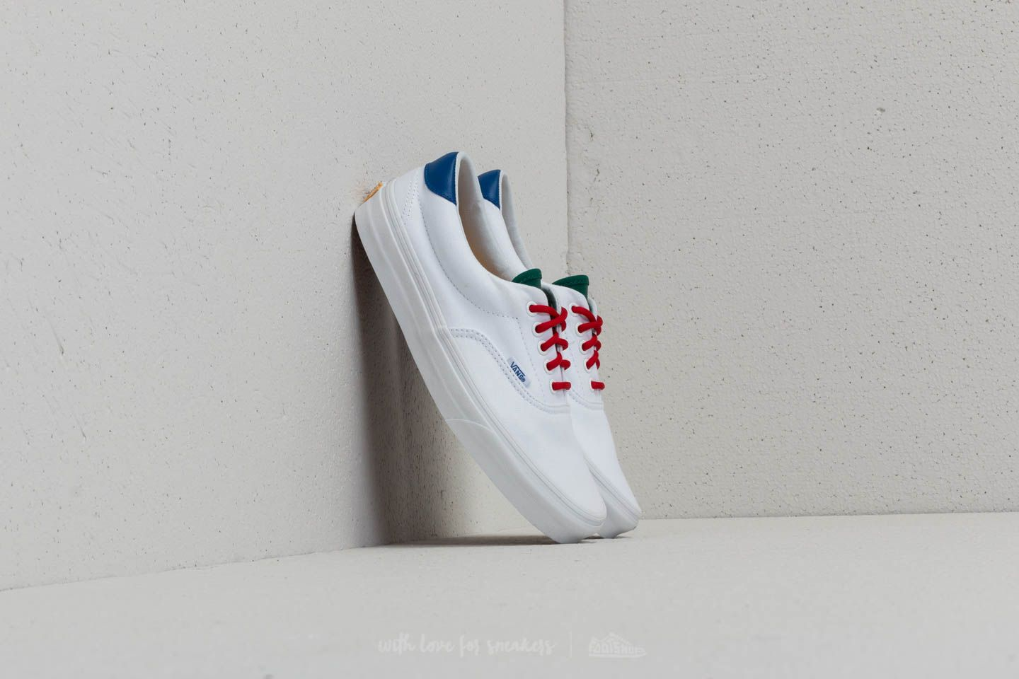 4fa43ac1fc0f85 Vans Era 59 (Vans Yacht Club) True White  Blue