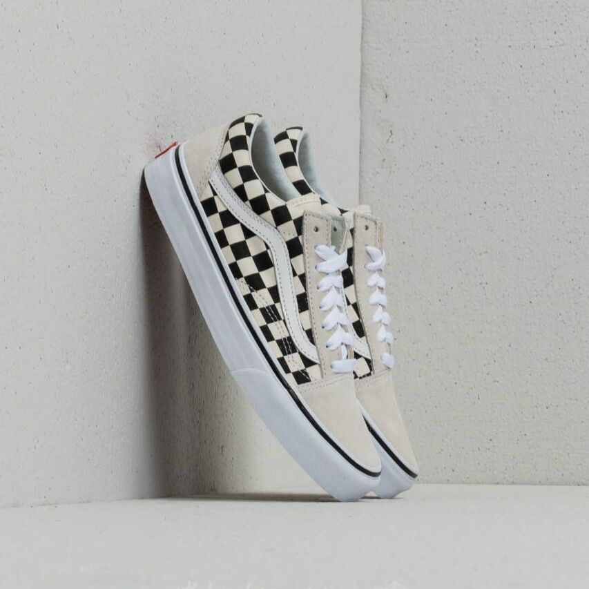 Vans Old Skool (Checkerboard) White/ Black EUR 45