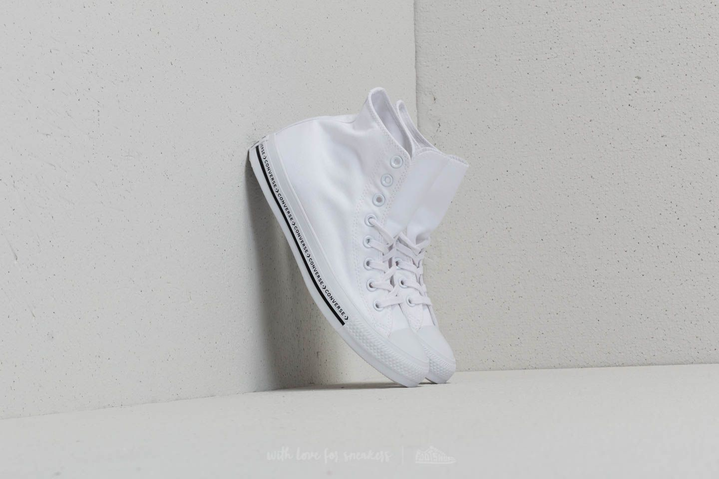 bea97c33404 Converse Chuck Taylor All Star Hi White/ White/ Black | Footshop