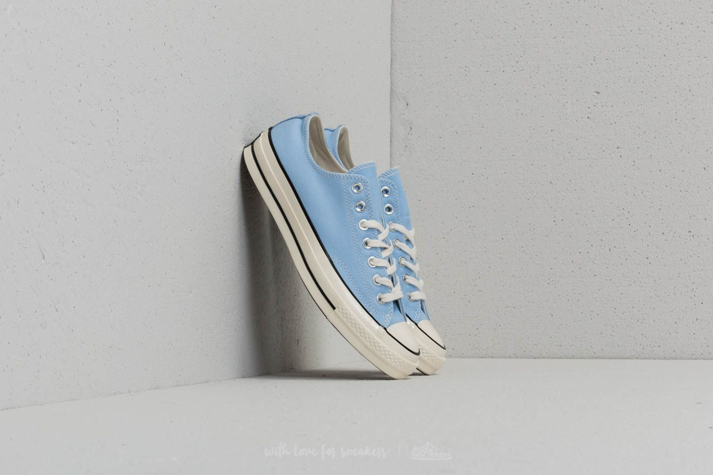 6af341253d01 Converse Chuck Taylor All Star 70 OX Blue Chill  Black  Egret