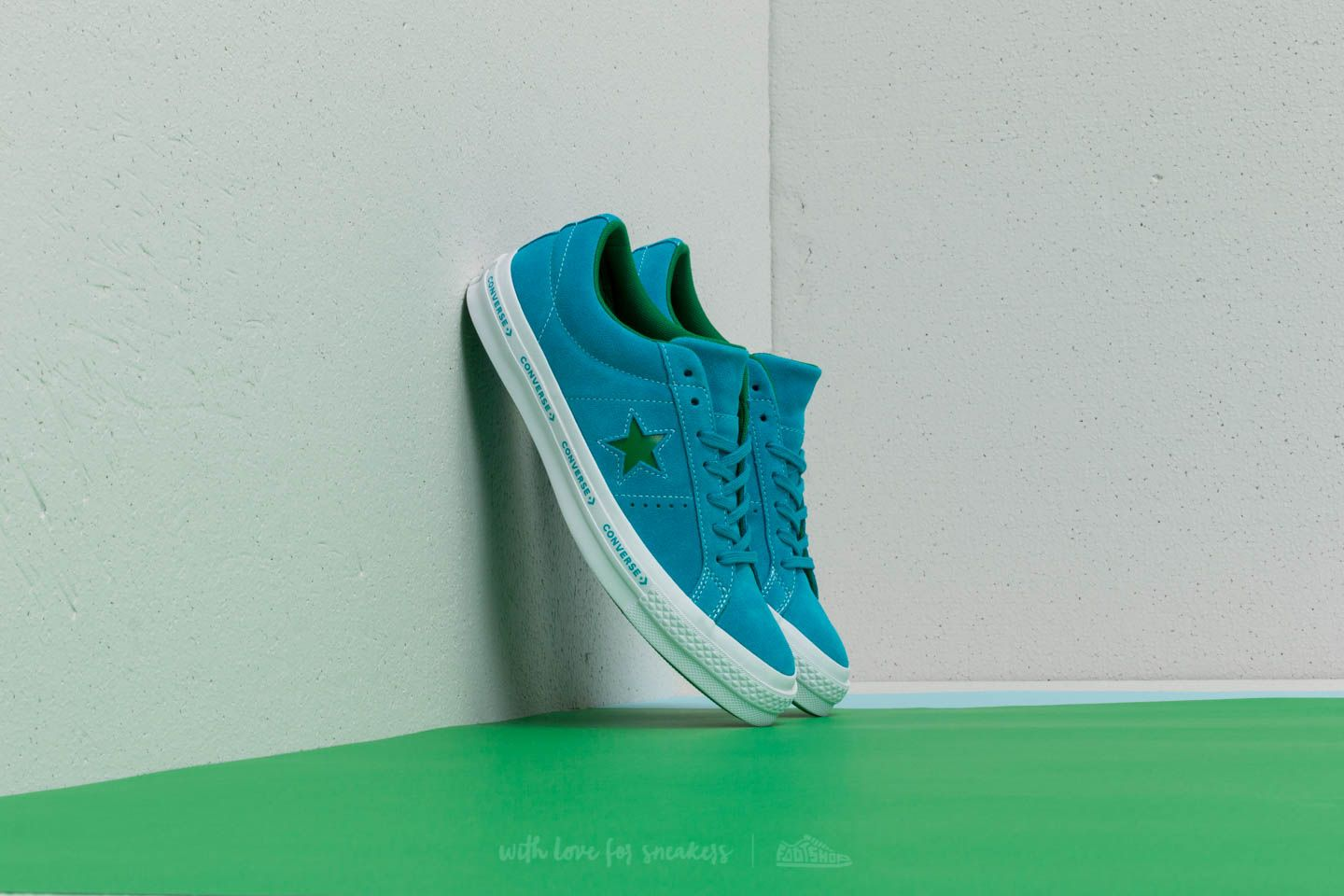 Converse One Star OX Hawaiian Ocean  Jolly Green at a great price 48 € buy 10ce861f7
