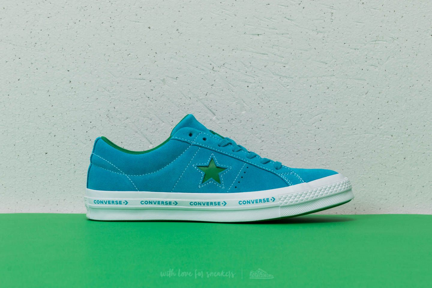 Converse One Star OX Hawaiian Ocean  Jolly Green at a great price 48 € buy b52535e70