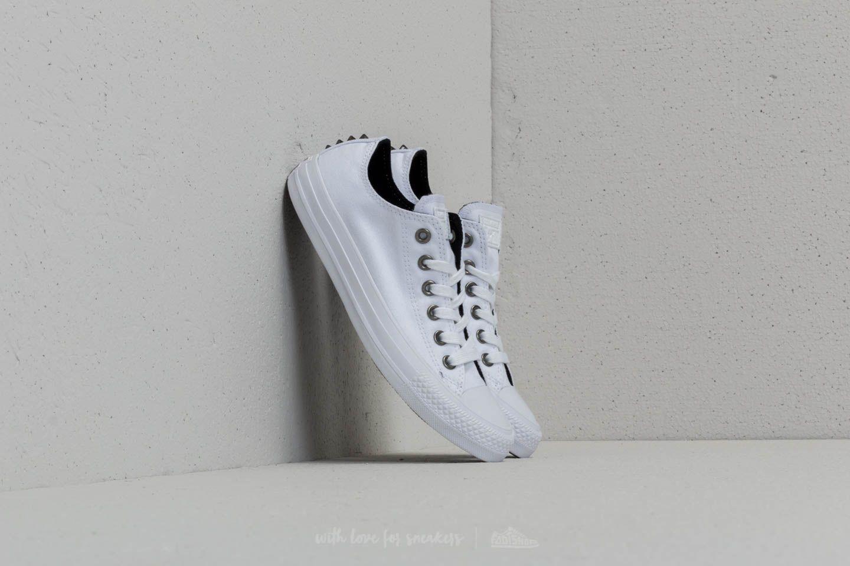 00b803e155af Converse Chuck Taylor All Star Ox White  Black  White