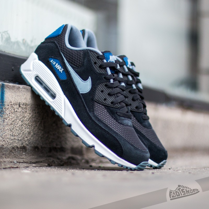 newest collection 314fc 06e27 Nike Air Max 90 Essential. Black Dv Grey Gym Blue