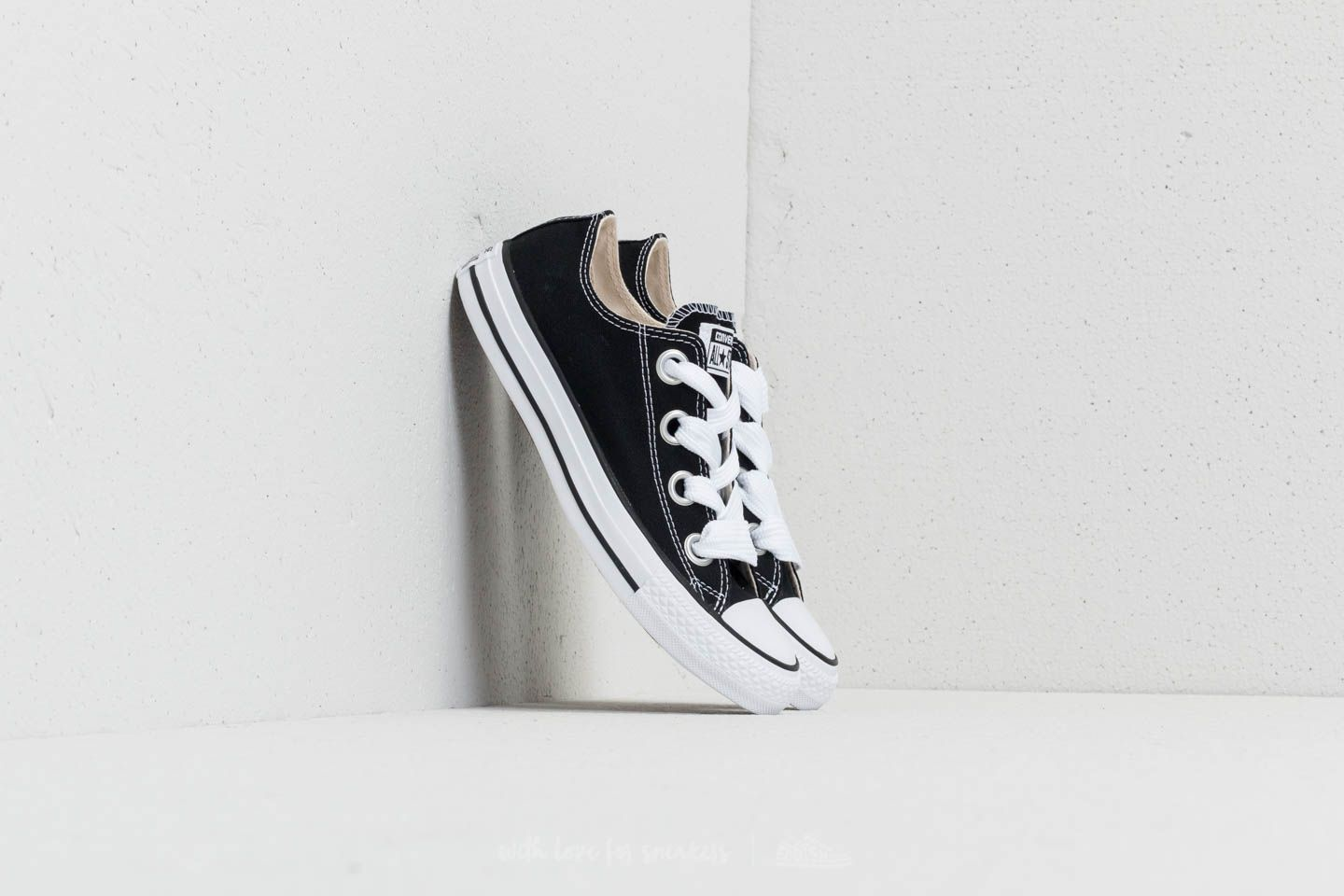 bae85e1d494014 Converse Chuck Taylor All Star Big Eyelets Ox Black  Natural  White ...