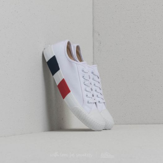 dd5ebe0619 Baťa Bullets Low Top White  Red  Blue