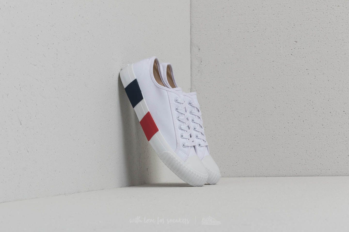 Baťa Bullets Low Top White/ Red/ Blue