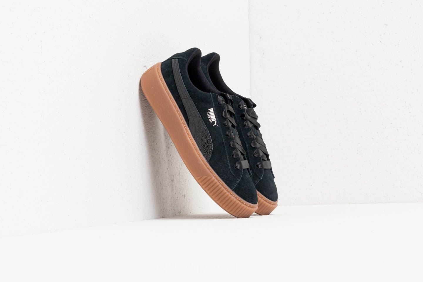Puma Suede Platform Bubble Wn's Puma Black