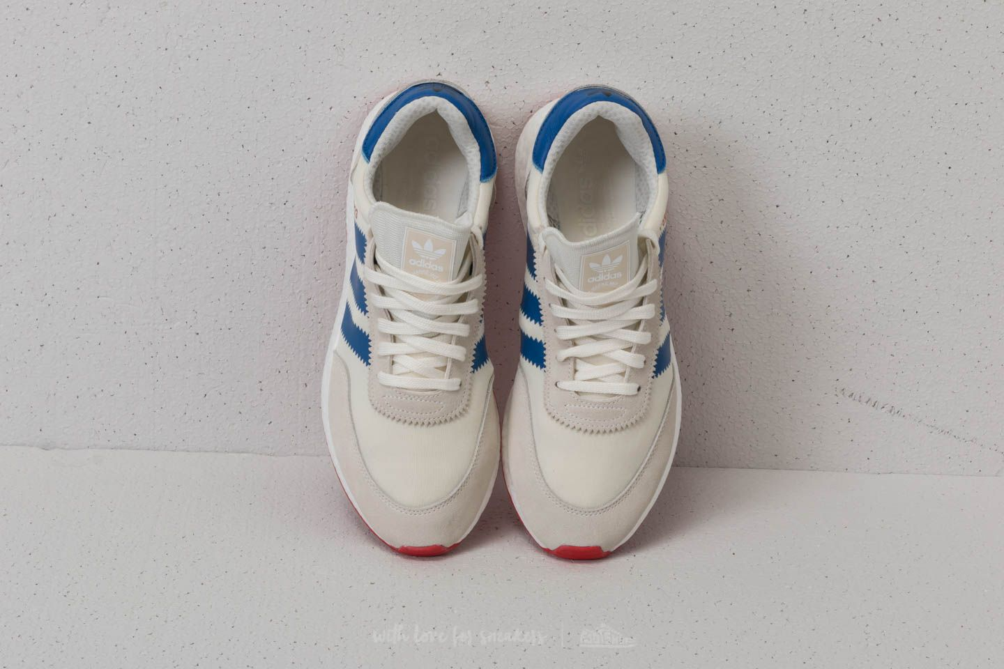 adidas I 5923 Off White Blue Core Red | Footshop