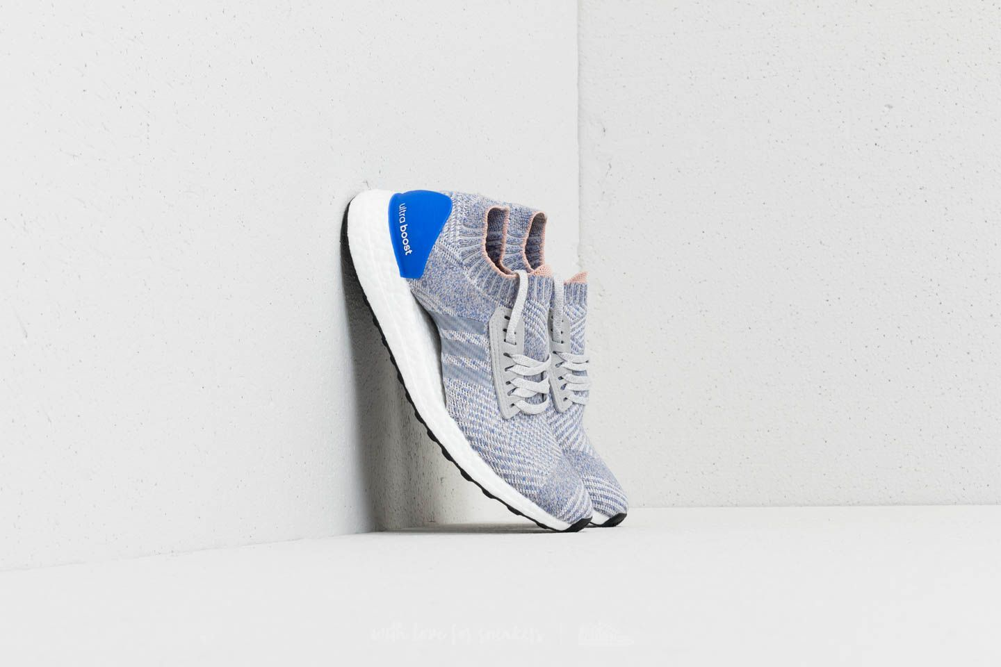 f1f83e369 adidas Ultraboost X Grey Two  Grey Two  Hi-Res Blue