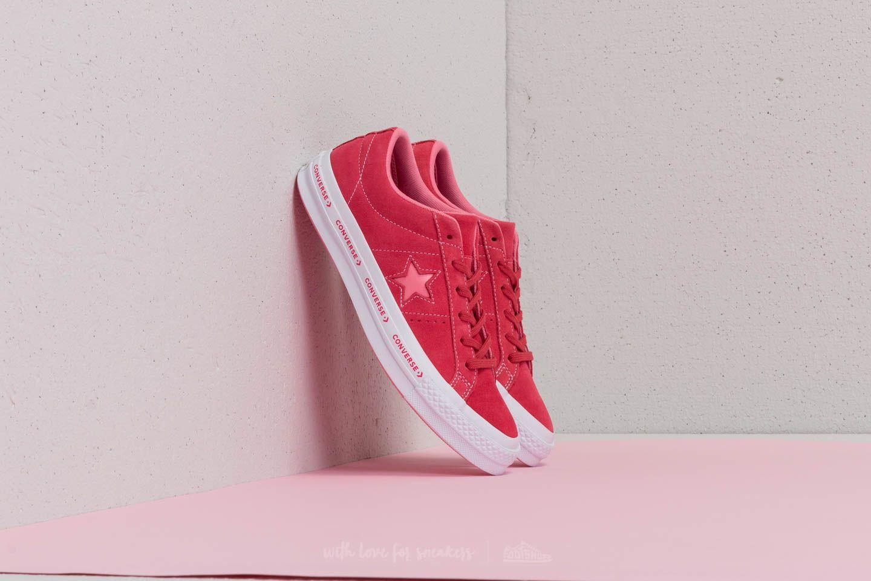 869b09795cf396 Converse One Star OX Paradise Pink  Geranium Pink