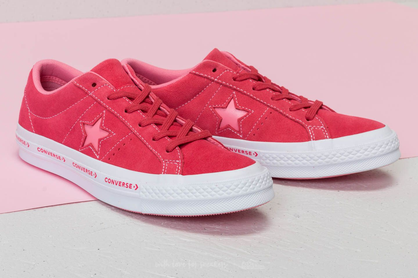 Converse One Star OX Paradise Pink  Geranium Pink at a great price 48 € buy 225ea1b08445