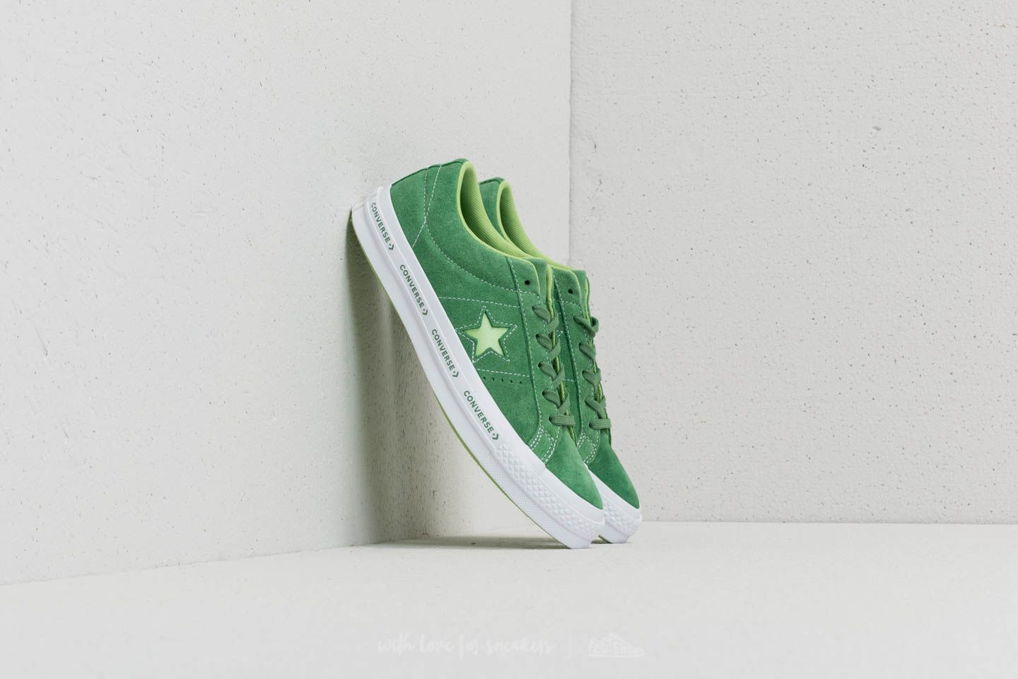 Converse One Star OX Mint Green  Jade Lime  White  f531d30eb