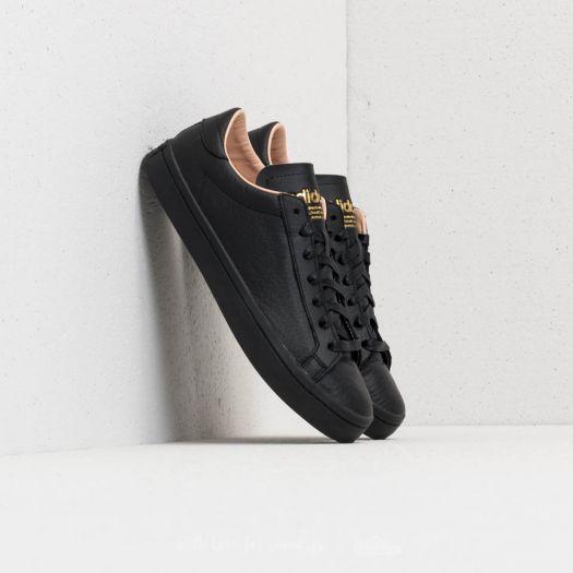 adidas originals court vantage core black