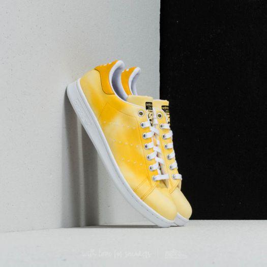 c2a6a930c adidas x Pharrell Williams HU Holi Stan Smith Ftw White  Ftw White  Yellow