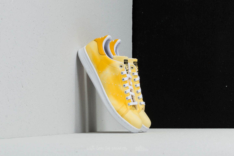 adidas x Pharrell Williams HU Holi Stan Smith Ftw White Ftw White Yellow | Footshop