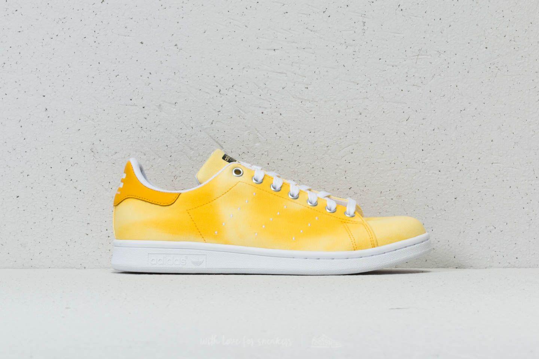 286c896b1 adidas x Pharrell Williams HU Holi Stan Smith Ftw White  Ftw White  Yellow  at
