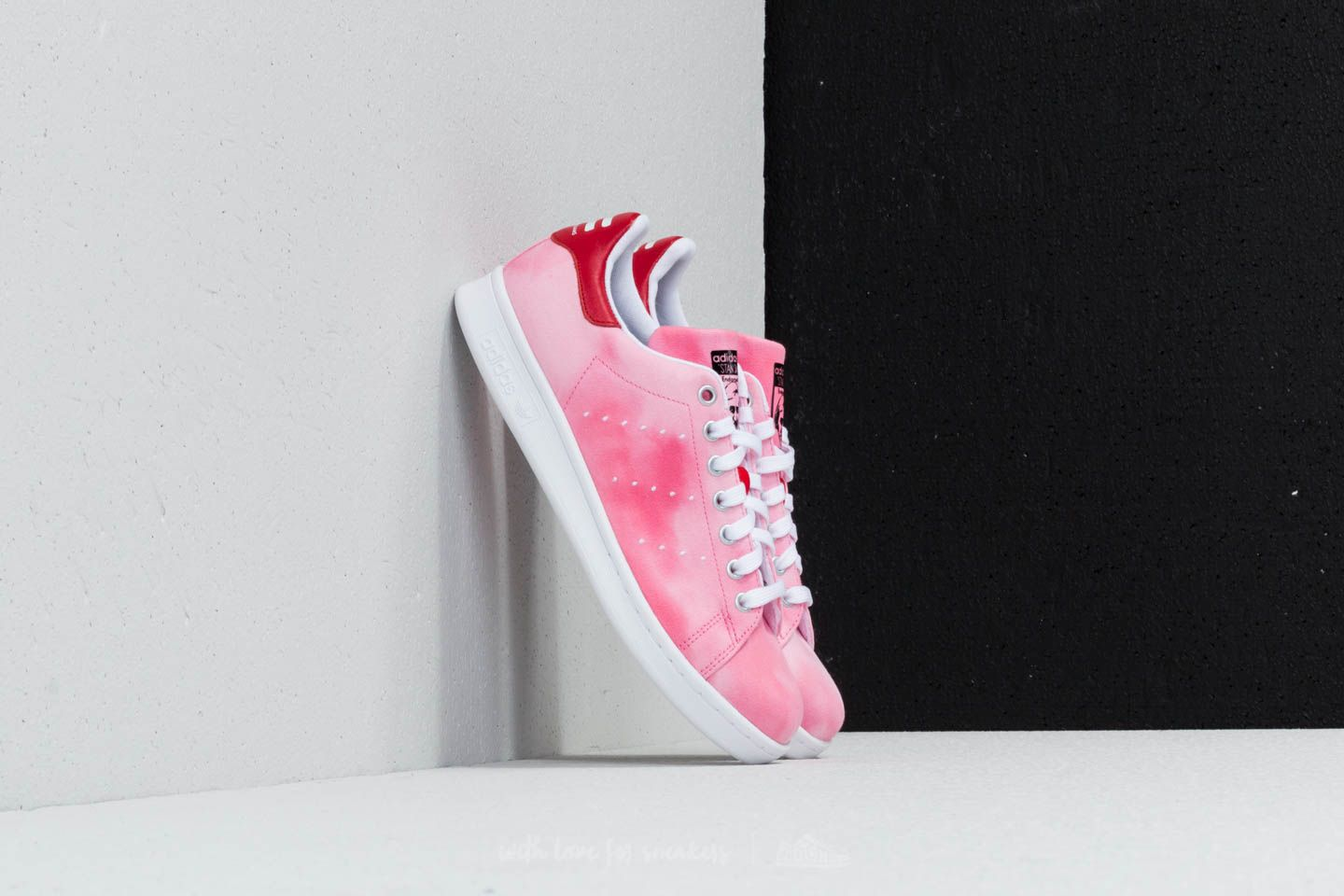 3077270fb adidas x Pharrell Williams HU Holi Stan Smith Ftw White  Ftw White  Red at