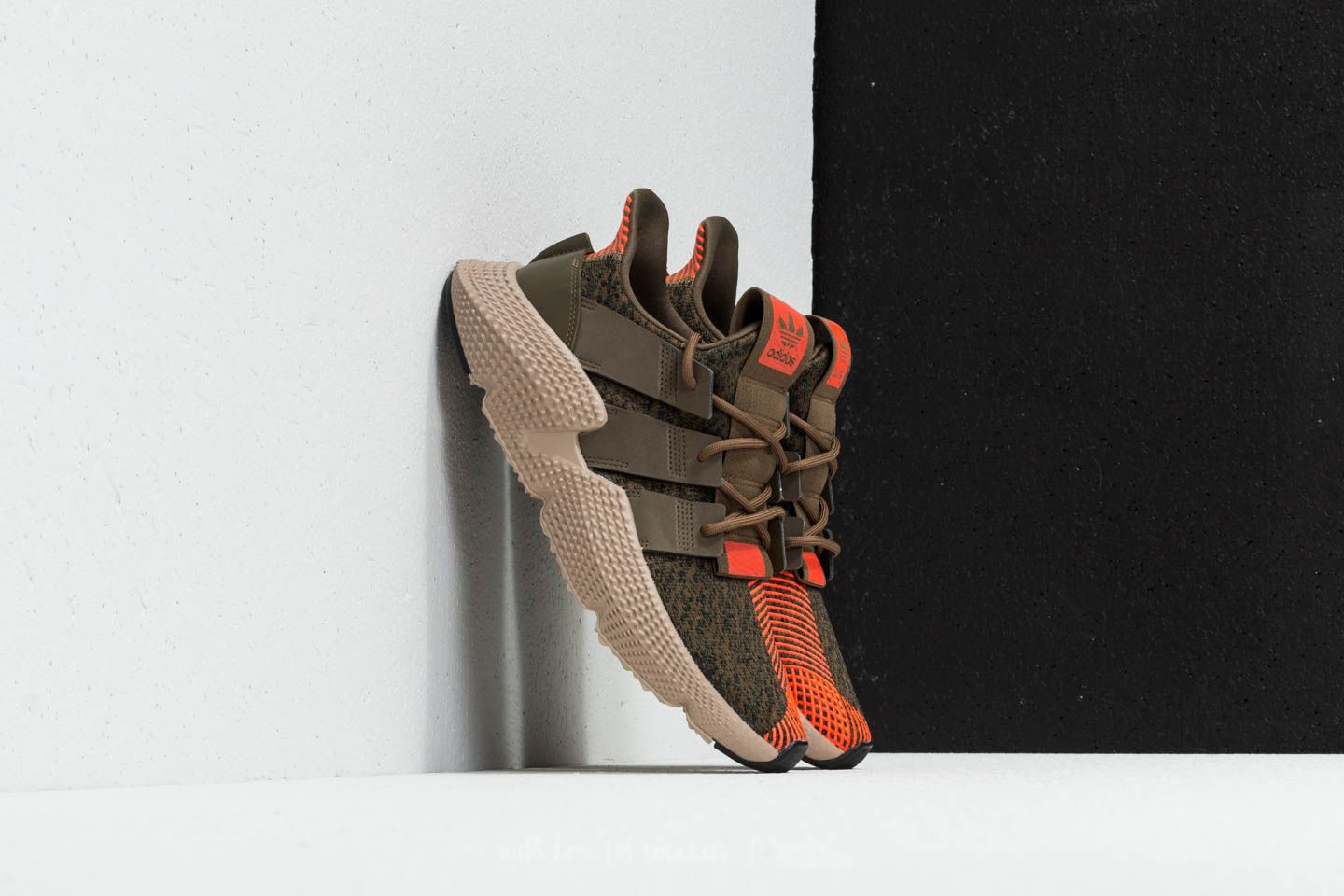 adidas Prophere Trace Olive Trace Olive Solar Red | Footshop