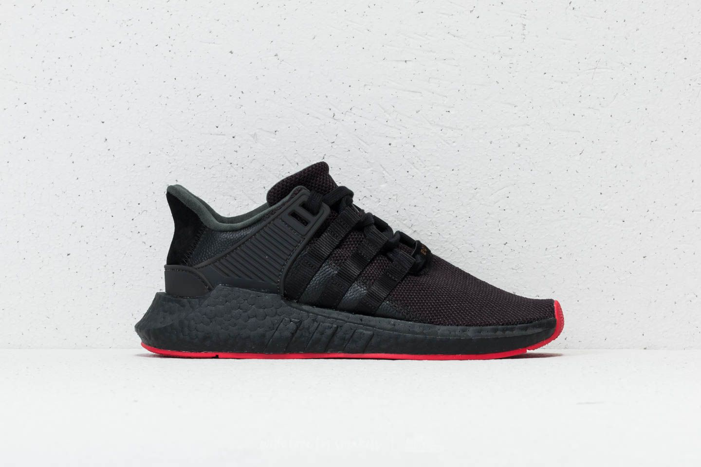 factory price c9222 f4bad adidas EQT Support 9317 Core Black Core Black Core Black at a