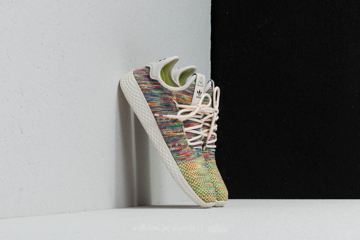 adidas x Pharrell Williams Tennis HU Primeknit Multicolor | Footshop