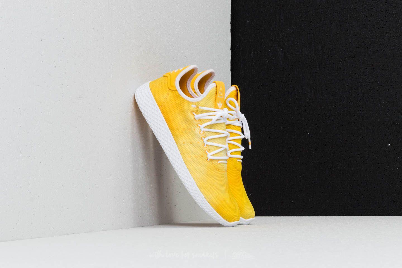 2ae65a15d9526 adidas x Pharrell Williams HU Tennis Bright Yellow  Ftw White  Ftw ...