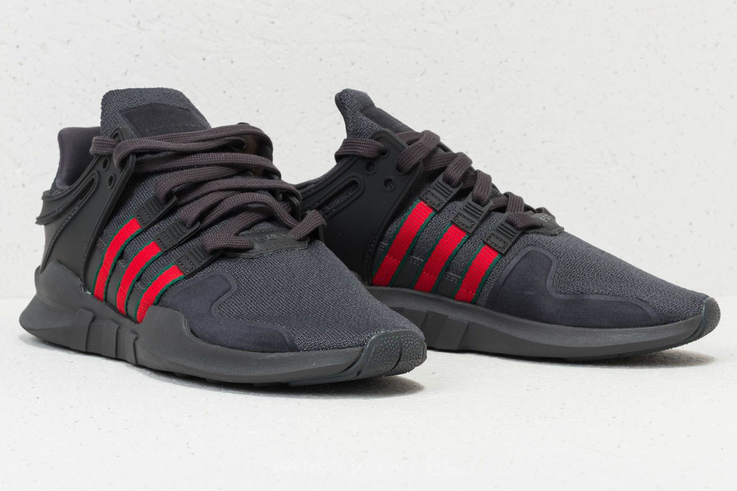 size 40 2004c d7fff ... 50% off adidas eqt support adv utility black scarlet collegiate green  at a great price