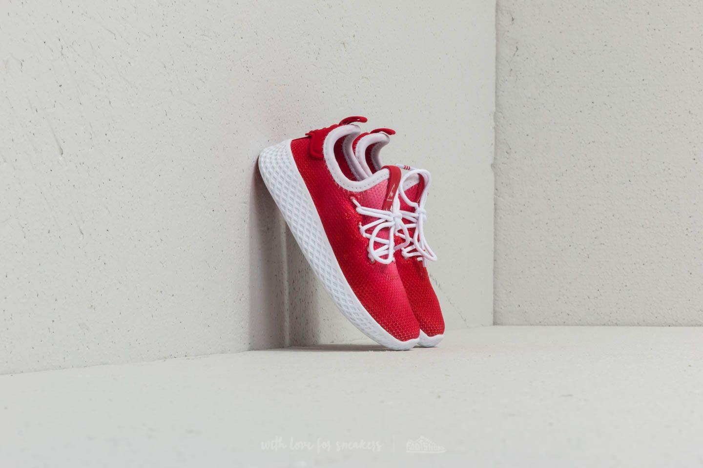 adidas x Pharrell Williams Tennis HU I Red/ Ftw White/ Ftw White