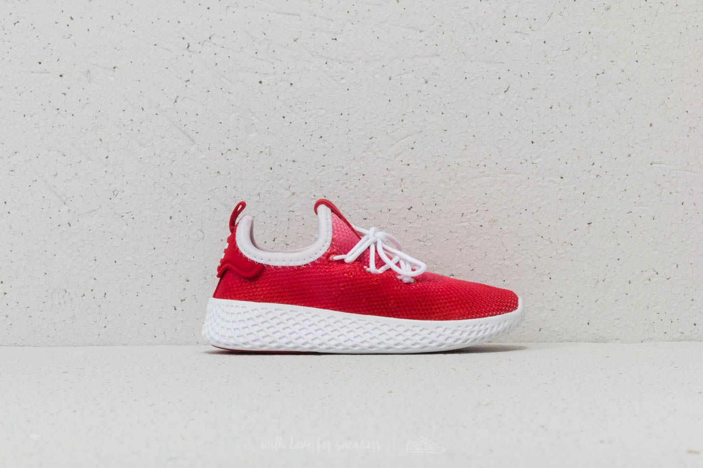 903671f47 adidas x Pharrell Williams Tennis HU I Red  Ftw White  Ftw White at a