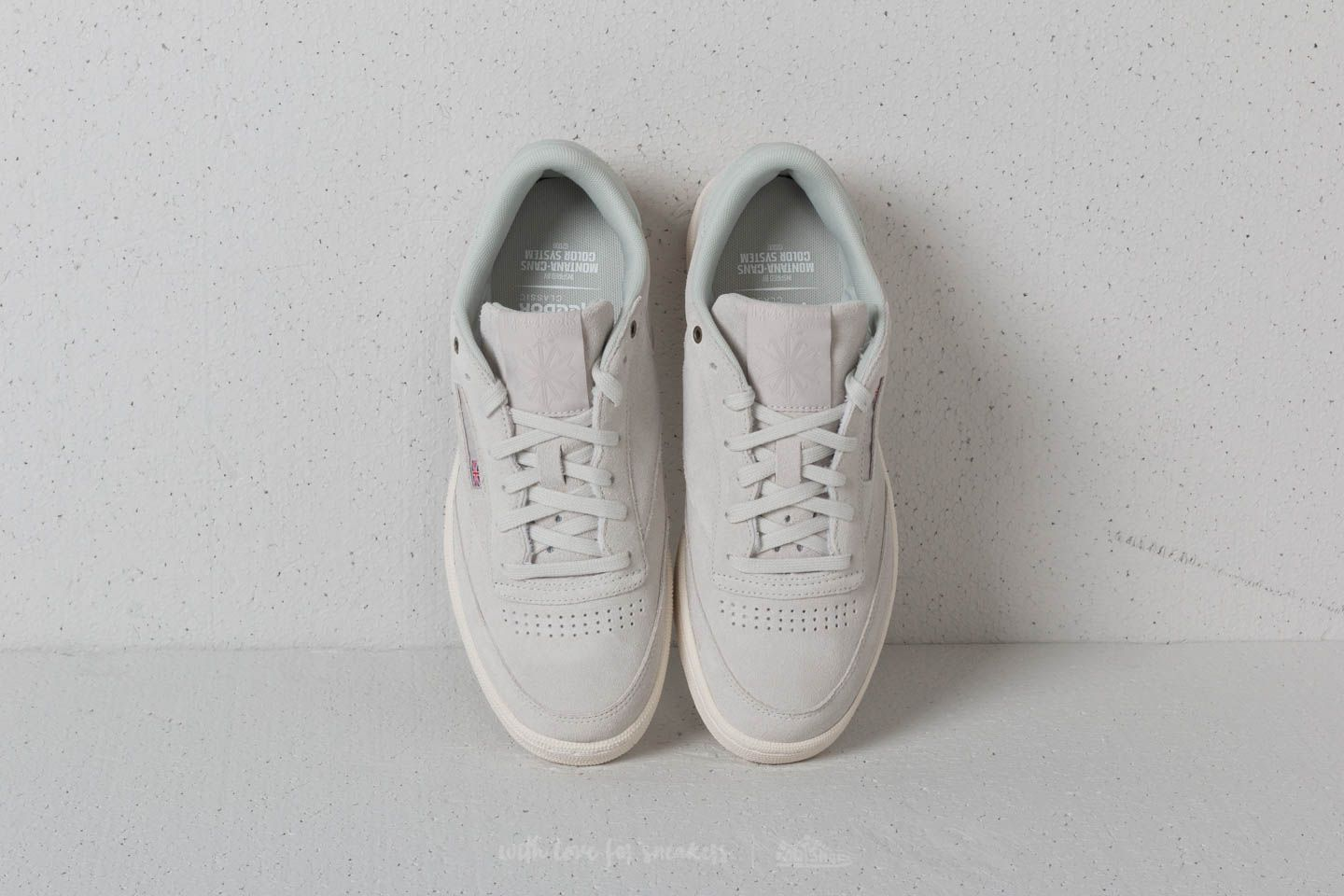 121cfebd0a88d3 Reebok x Montana Cans Club C 85 Pebble  Chalk at a great price 55 €
