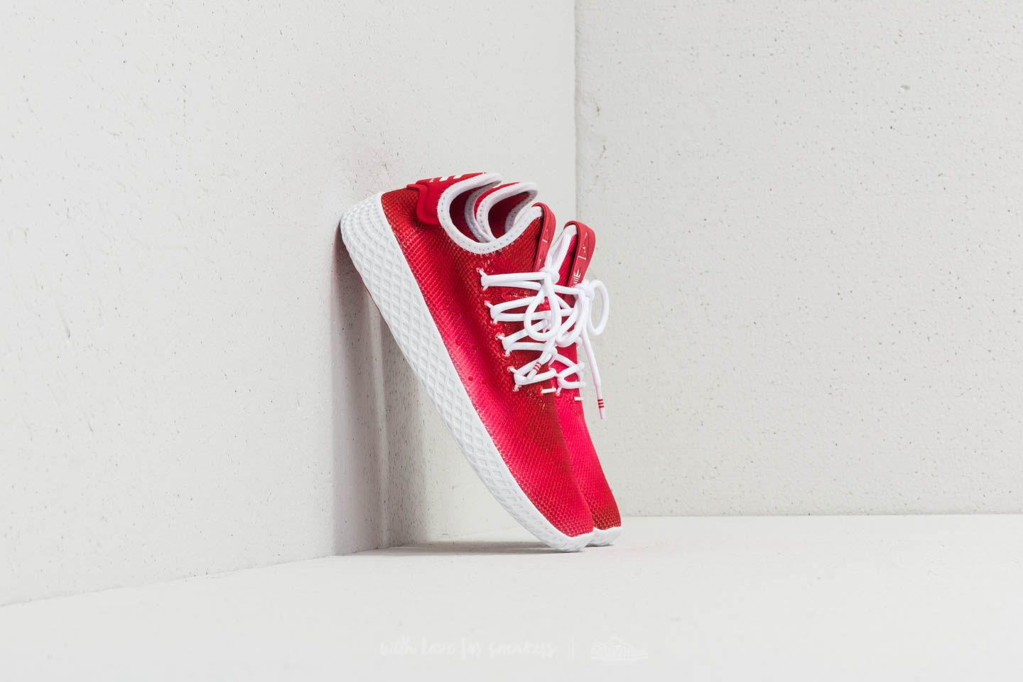 3a06433b15527 adidas x Pharrell Williams Tennis HU J Scarlet  Ftw White  Ftw White ...