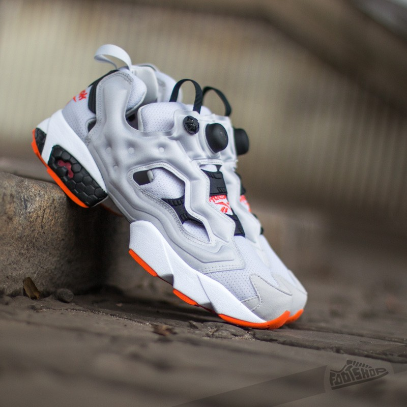 Reebok Instapump Fury OG Steel Black Swag Orange  8f3e767f3f6