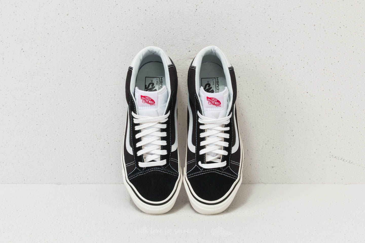 Vans Mid Skool 37 DX (Anaheim Factory) Black White | Footshop