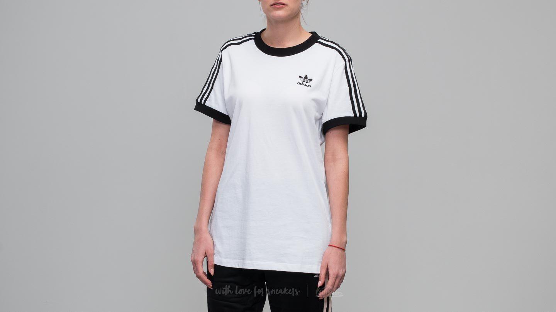 ebb9a01bbb adidas 3 Stripes Tee White/ Black | Footshop
