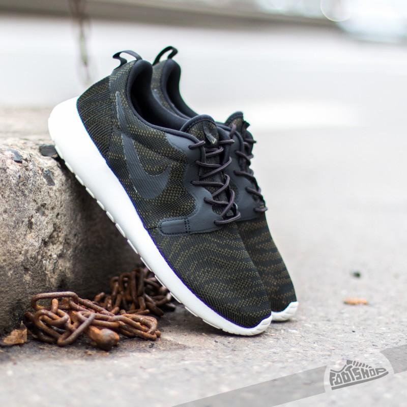 half off ad0a2 bc3d7 Nike WMNS Rosherun KJCRD Faded Olive Black