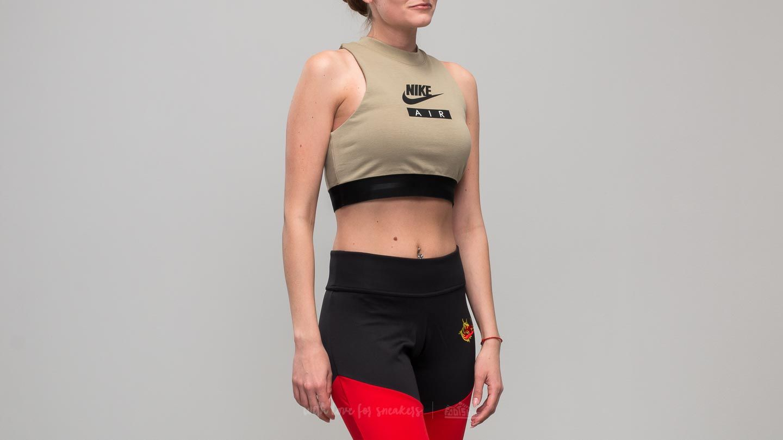 Nike Sportswear Air Crop Top Olive